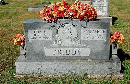 PRIDDY, MARGARET E - Gallia County, Ohio | MARGARET E PRIDDY - Ohio Gravestone Photos