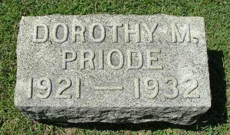 PRIODE, DOROTHY MAE - Gallia County, Ohio | DOROTHY MAE PRIODE - Ohio Gravestone Photos