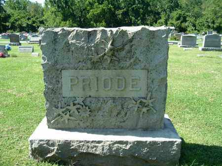 PRIODE, FAMILY MONUMENT - Gallia County, Ohio | FAMILY MONUMENT PRIODE - Ohio Gravestone Photos