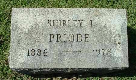 PRIODE, SHIRLEY IRENE - Gallia County, Ohio | SHIRLEY IRENE PRIODE - Ohio Gravestone Photos