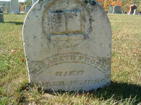PROSE, ELIZABETH - Gallia County, Ohio | ELIZABETH PROSE - Ohio Gravestone Photos