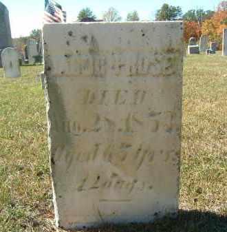 PROSE, JACOB - Gallia County, Ohio | JACOB PROSE - Ohio Gravestone Photos