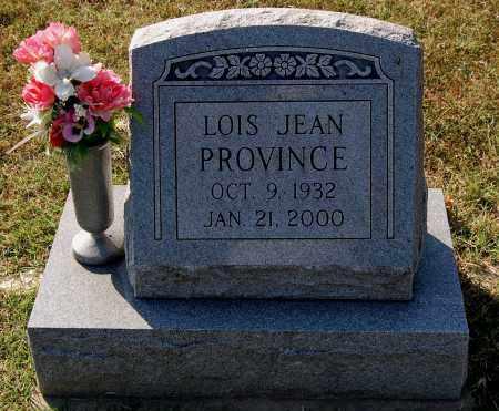 PROVINCE, LOIS JEAN - Gallia County, Ohio | LOIS JEAN PROVINCE - Ohio Gravestone Photos