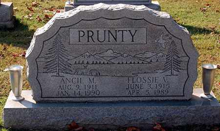 PRUNTY, FLOSSIE - Gallia County, Ohio | FLOSSIE PRUNTY - Ohio Gravestone Photos