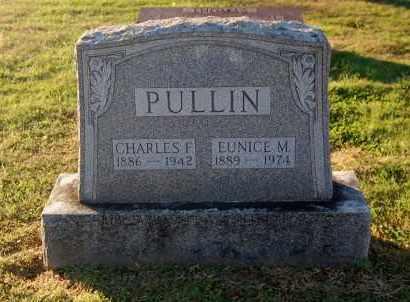 PULLIN, CHARLES F - Gallia County, Ohio | CHARLES F PULLIN - Ohio Gravestone Photos