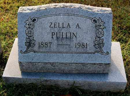 PULLIN, ZELLA - Gallia County, Ohio | ZELLA PULLIN - Ohio Gravestone Photos