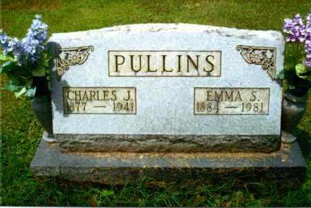 PULLINS, CHARLES J. - Gallia County, Ohio | CHARLES J. PULLINS - Ohio Gravestone Photos