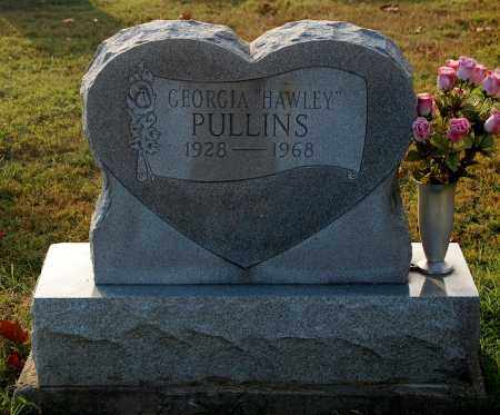 HAWLEY PULLINS, GEORGIA - Gallia County, Ohio | GEORGIA HAWLEY PULLINS - Ohio Gravestone Photos
