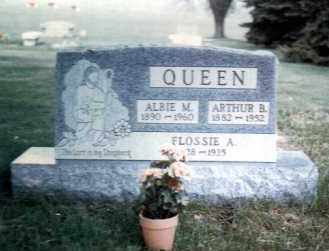 QUEEN, ARTHUR BURTON - Gallia County, Ohio | ARTHUR BURTON QUEEN - Ohio Gravestone Photos