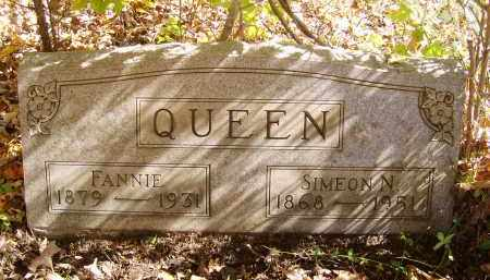 QUEEN, SIMEON - Gallia County, Ohio | SIMEON QUEEN - Ohio Gravestone Photos