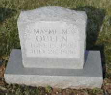 QUEEN, MAYME M. - Gallia County, Ohio | MAYME M. QUEEN - Ohio Gravestone Photos