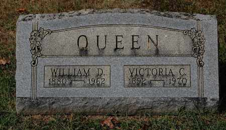 QUEEN, WILLIAM D. - Gallia County, Ohio | WILLIAM D. QUEEN - Ohio Gravestone Photos