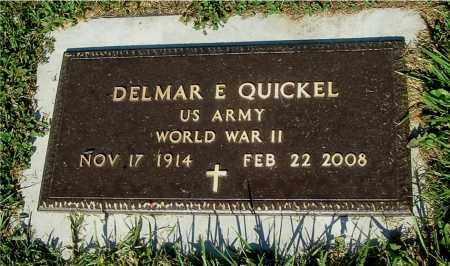 QUICKEL, DELMAR E - Gallia County, Ohio | DELMAR E QUICKEL - Ohio Gravestone Photos
