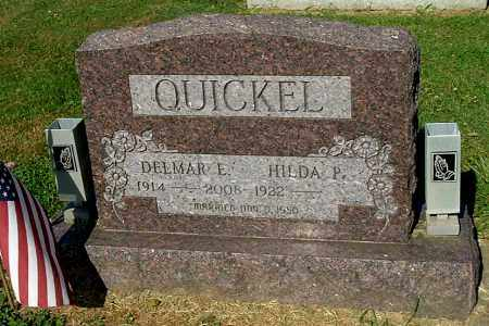 QUICKEL, HILDA P - Gallia County, Ohio | HILDA P QUICKEL - Ohio Gravestone Photos