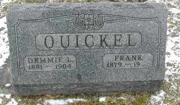 QUICKEL, FRANK - Gallia County, Ohio | FRANK QUICKEL - Ohio Gravestone Photos