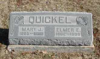 QUICKEL, ELMER E. - Gallia County, Ohio | ELMER E. QUICKEL - Ohio Gravestone Photos