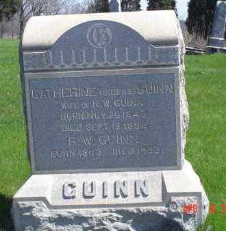 SIDERS QUINN, CATHERINE - Gallia County, Ohio | CATHERINE SIDERS QUINN - Ohio Gravestone Photos