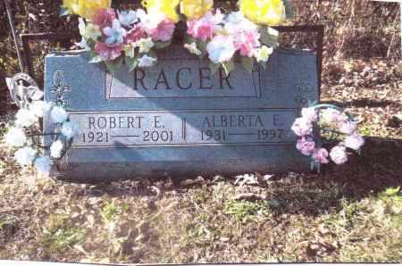 RACER, ROBERT E. - Gallia County, Ohio | ROBERT E. RACER - Ohio Gravestone Photos