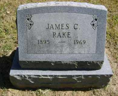 RAKE, JAMES - Gallia County, Ohio | JAMES RAKE - Ohio Gravestone Photos