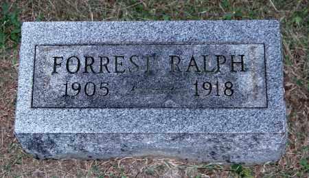 RALPH, FORREST - Gallia County, Ohio | FORREST RALPH - Ohio Gravestone Photos