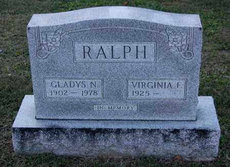 RALPH, VIRGINIA F - Gallia County, Ohio | VIRGINIA F RALPH - Ohio Gravestone Photos
