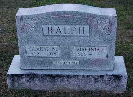 RALPH, GLADYS N - Gallia County, Ohio | GLADYS N RALPH - Ohio Gravestone Photos
