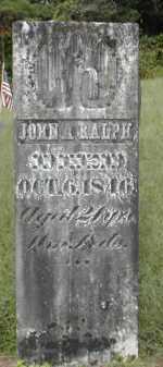 RALPH, JOHN - Gallia County, Ohio | JOHN RALPH - Ohio Gravestone Photos