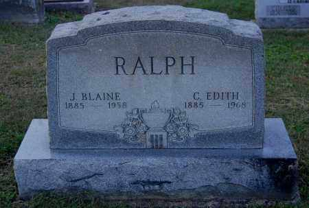 RALPH, J. BLAINE - Gallia County, Ohio | J. BLAINE RALPH - Ohio Gravestone Photos