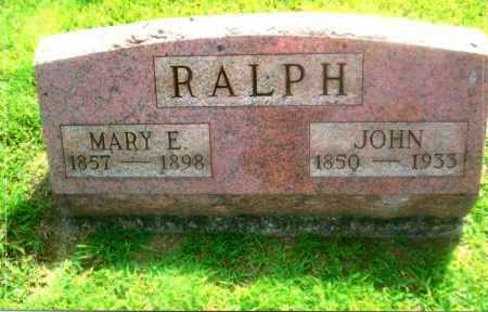 RALPH, MARY ELLEN - Gallia County, Ohio | MARY ELLEN RALPH - Ohio Gravestone Photos