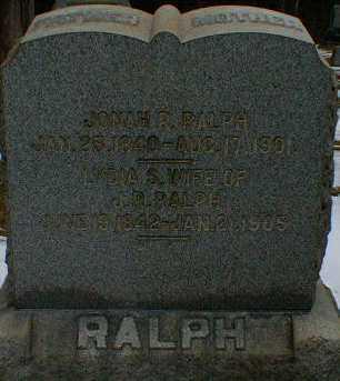 RALPH, LYDIA - Gallia County, Ohio | LYDIA RALPH - Ohio Gravestone Photos