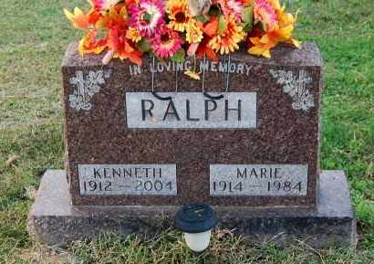 RALPH, KENNETH - Gallia County, Ohio | KENNETH RALPH - Ohio Gravestone Photos