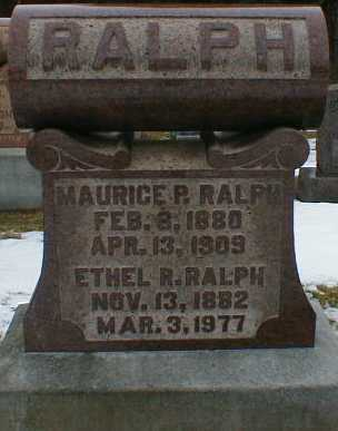 RALPH, MAURICE - Gallia County, Ohio | MAURICE RALPH - Ohio Gravestone Photos