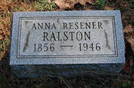 RALSTON, ANNA - Gallia County, Ohio | ANNA RALSTON - Ohio Gravestone Photos