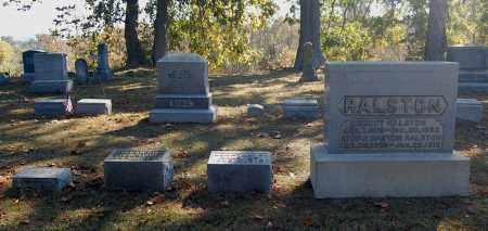 RALSTON, FAMILY GROUPING - Gallia County, Ohio | FAMILY GROUPING RALSTON - Ohio Gravestone Photos