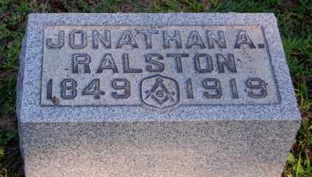RALSTON, JONATHAN A - Gallia County, Ohio | JONATHAN A RALSTON - Ohio Gravestone Photos