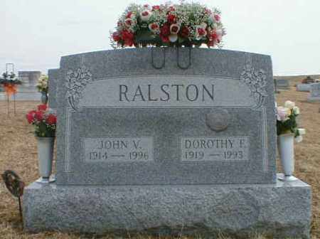 RALSTON, DOROTHY - Gallia County, Ohio | DOROTHY RALSTON - Ohio Gravestone Photos