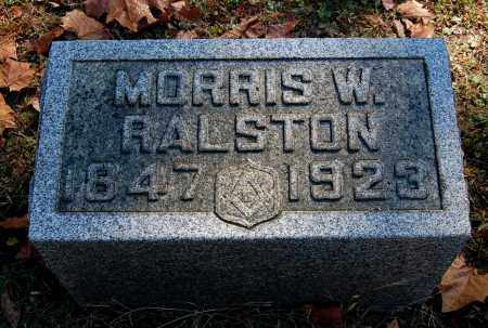 RALSTON, MORRIS W - Gallia County, Ohio | MORRIS W RALSTON - Ohio Gravestone Photos