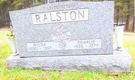 RALSTON, WILDA - Gallia County, Ohio | WILDA RALSTON - Ohio Gravestone Photos