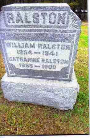 RALSTON, CATHARINE - Gallia County, Ohio | CATHARINE RALSTON - Ohio Gravestone Photos
