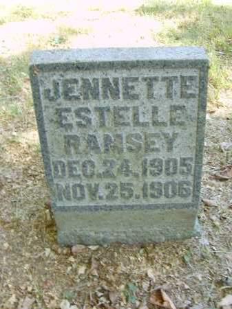 RAMSEY, JENNETTE - Gallia County, Ohio | JENNETTE RAMSEY - Ohio Gravestone Photos
