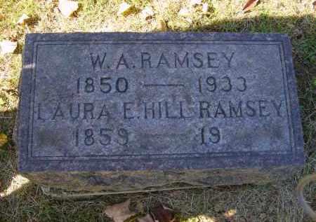 RAMSEY, W. - Gallia County, Ohio | W. RAMSEY - Ohio Gravestone Photos