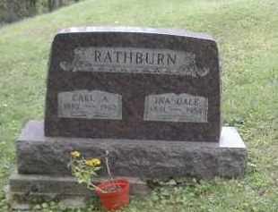 RATHBURN, INA DALE - Gallia County, Ohio | INA DALE RATHBURN - Ohio Gravestone Photos