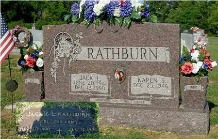 RATHBURN, JACK L - Gallia County, Ohio | JACK L RATHBURN - Ohio Gravestone Photos