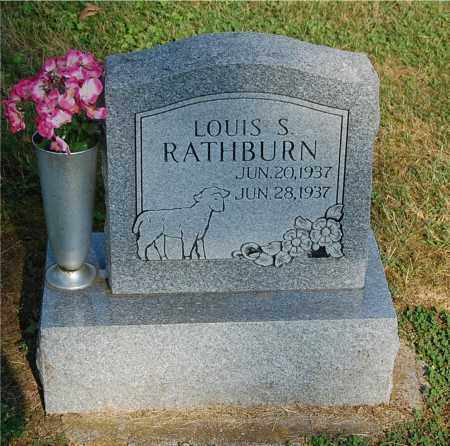 RATHBURN, LOUIS S - Gallia County, Ohio | LOUIS S RATHBURN - Ohio Gravestone Photos