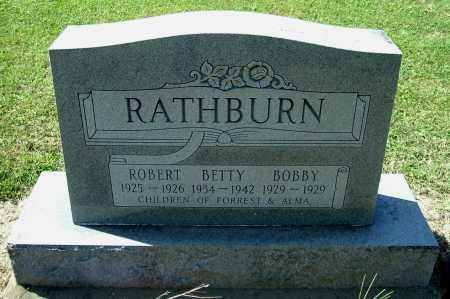 RATHBURN, ROBERT IVAN - Gallia County, Ohio | ROBERT IVAN RATHBURN - Ohio Gravestone Photos