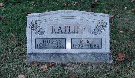 RATLIFF, THOMAS - Gallia County, Ohio | THOMAS RATLIFF - Ohio Gravestone Photos