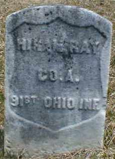 RAY, HIRAM - Gallia County, Ohio | HIRAM RAY - Ohio Gravestone Photos