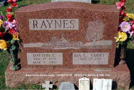 RAYNES, DAYTON - Gallia County, Ohio | DAYTON RAYNES - Ohio Gravestone Photos