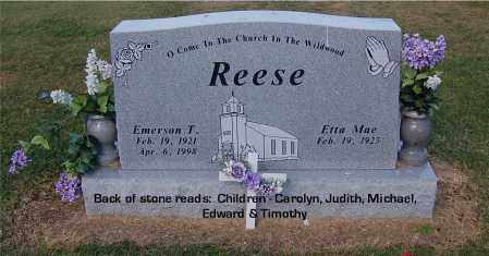 REESE, ETTA MAE - Gallia County, Ohio | ETTA MAE REESE - Ohio Gravestone Photos