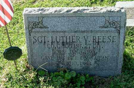 REESE, LUTHER V., SGT. - Gallia County, Ohio | LUTHER V., SGT. REESE - Ohio Gravestone Photos